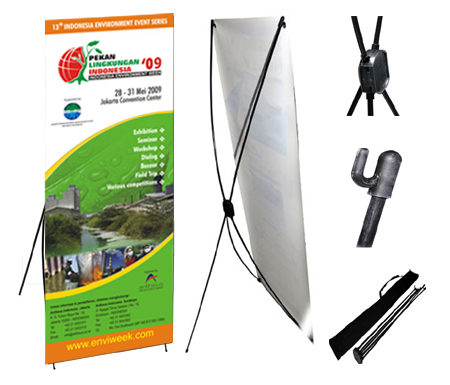 X Banner Indoor Latex 60x160cm